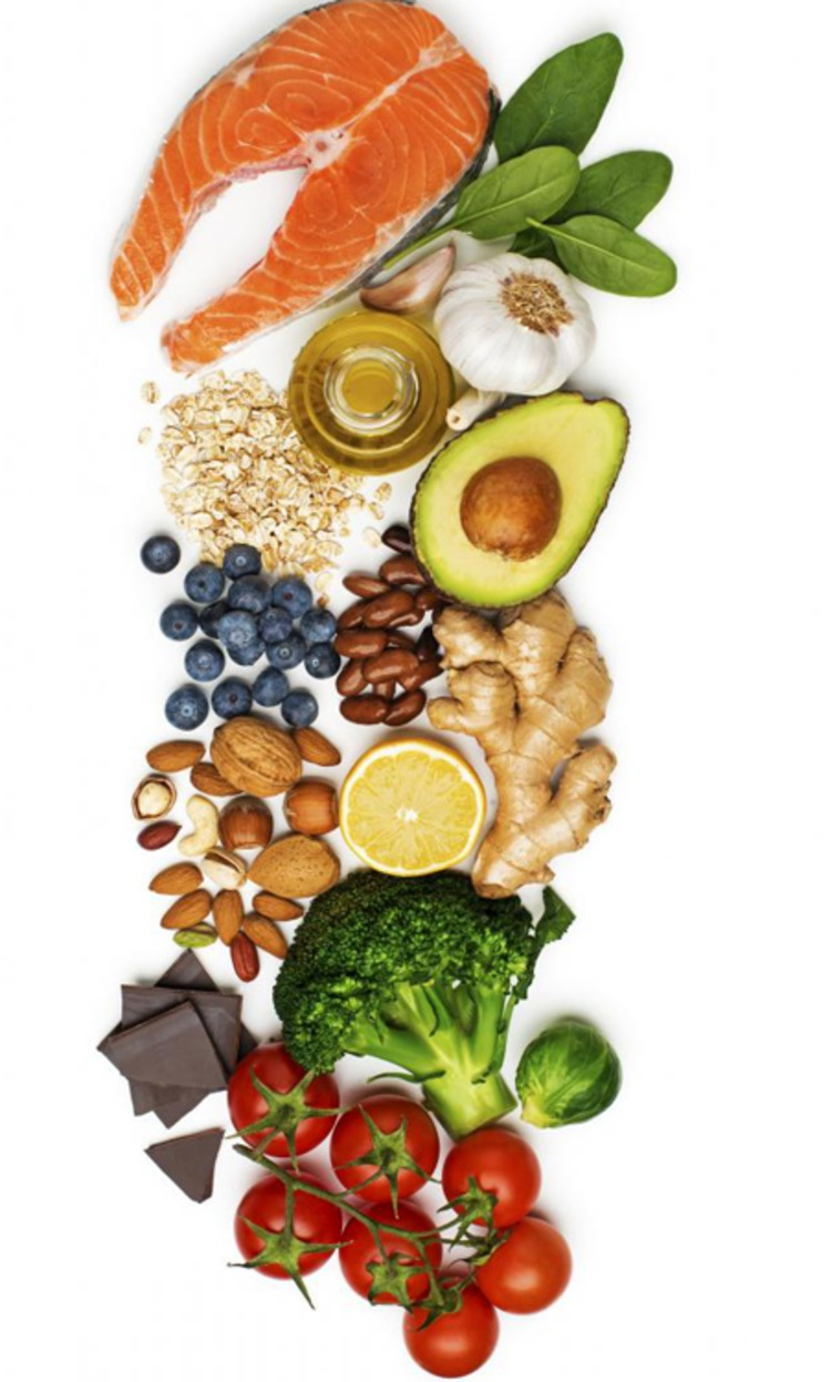 popular-healthy-foods-laid-out-on-white-background